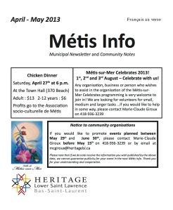 Info Metis page 1
