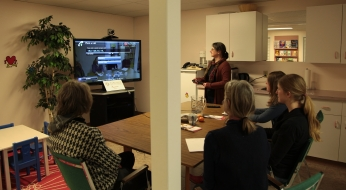 Videoconferences at the Library