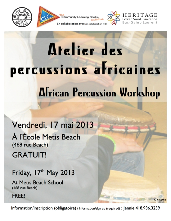 African Percussion Workshops