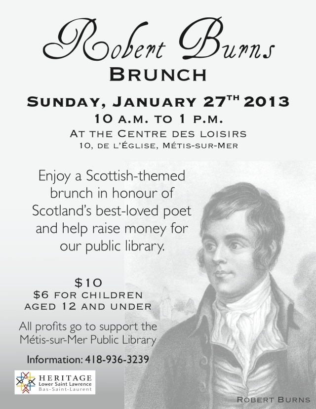 HLSL-Burns Brunch-Poster