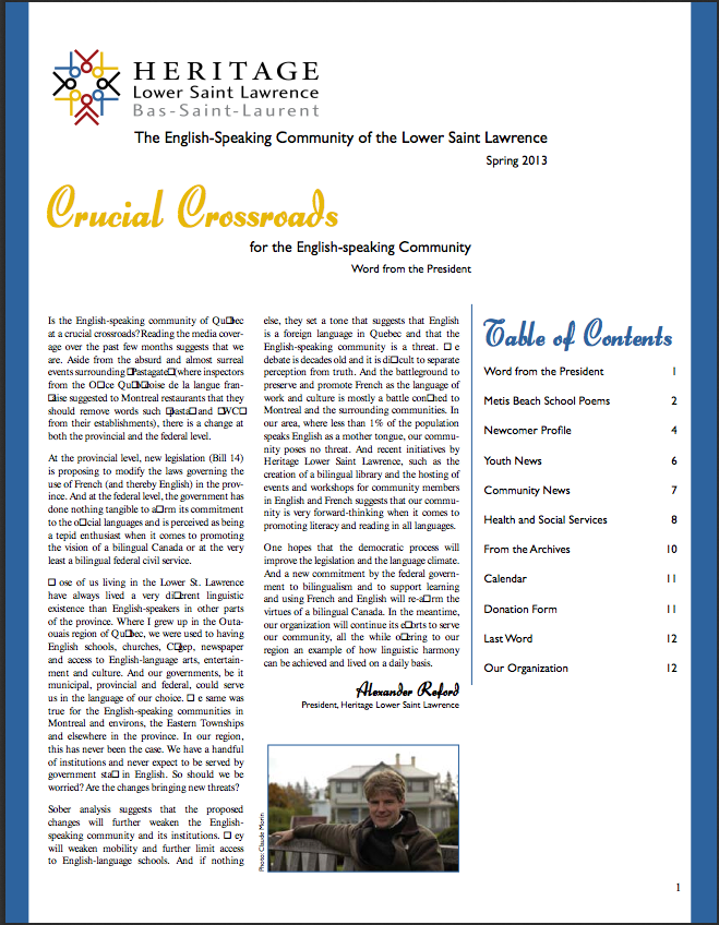 HLSL Spring Newsletter