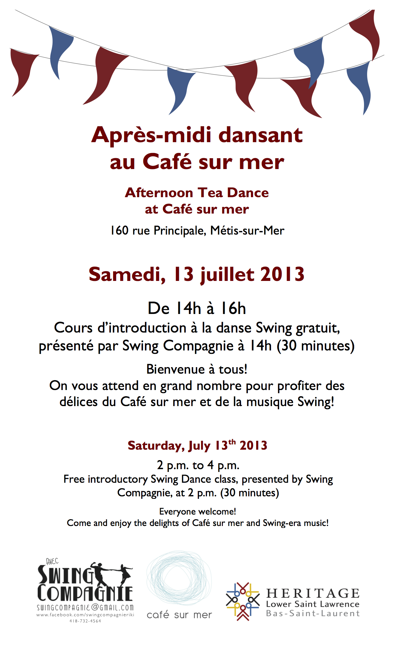 HLSL-Events-Tea Dances-POSTER