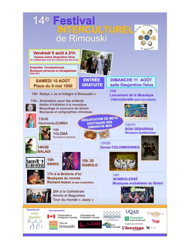Festival Interculturel 2013