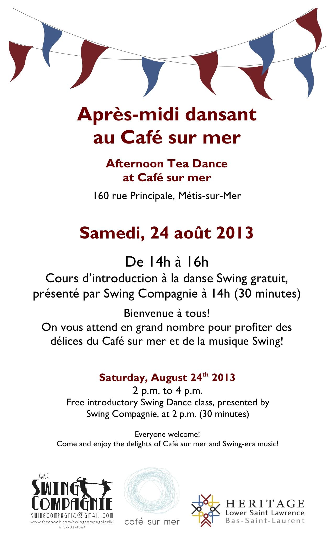 HLSL-Events-Tea Dances-POSTER_August 24