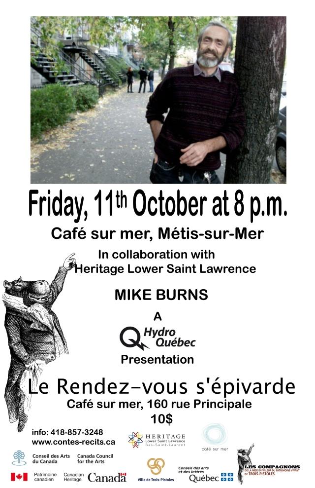 Mike Burns at Café sur Mer