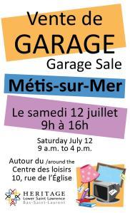 HLSL-garage sale-poster web