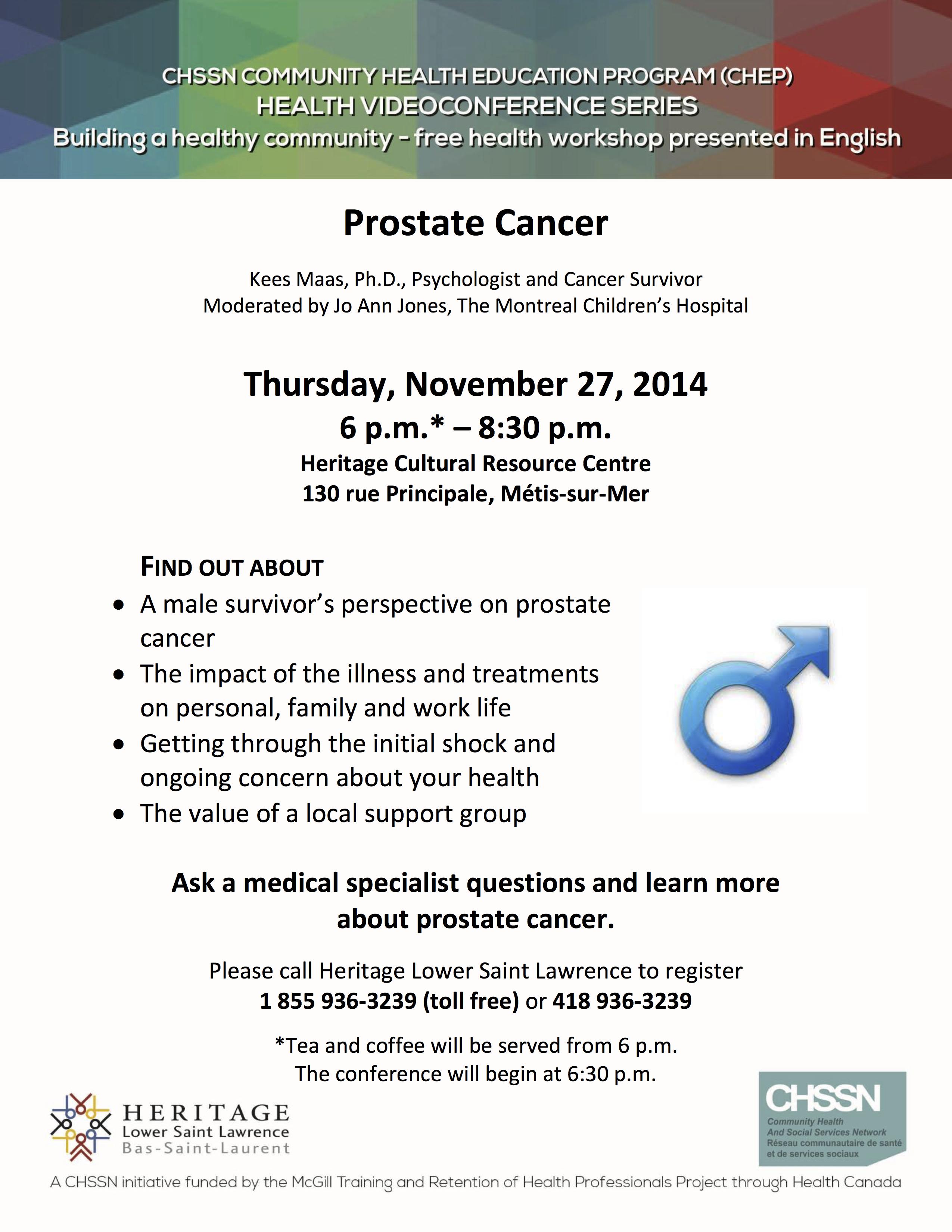 HLSL-CHEP-Nov 2014-Prostate Cancer EN