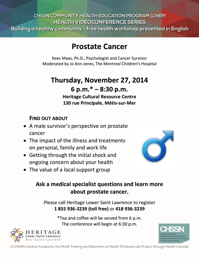 HLSL-CHEP-Nov 2014-Prostate Cancer EN