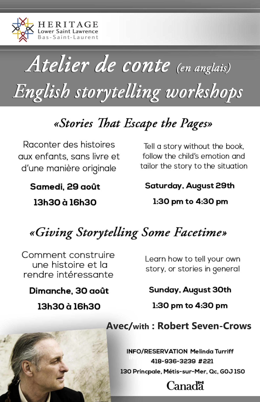 Storytelling en-fr poster